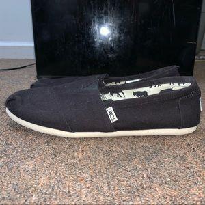 Original Black Toms Shoes (no box included)